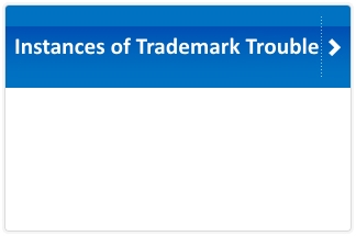 Instances of Trademark Troubles
