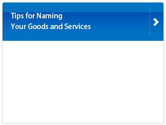 Tips for Naming Your Goods and Services